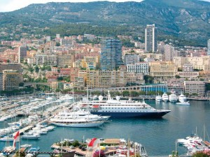 SeaDream tucked into Monte Carlo marina SML