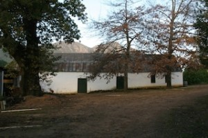 THE original house that ex-soldier Laurens Campher built for his wife and former slave, Ansela van de Caab on what is now Muratie Wine Estate at Stellenbosch in South Africa.