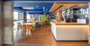 The new look Ibis Budget 'Avanzi' restaurant design – bright, light and perfect for budget travellers