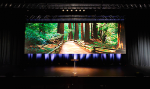The Star can now offer pre rigged and configured LED screens in different ratios for a variety of event styles.