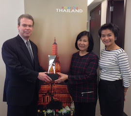 Thailand received the award the 3rd year in a row