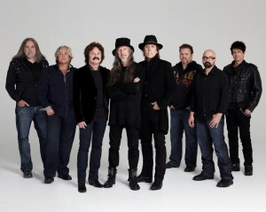 The Doobie Brothers kick-off the night's music at 7pm