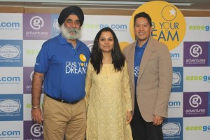 Karan Anand, Bruce Poon Tip & Neelu Singh at the alliance anouncement in Mumbai