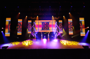 The Star Event Centre offers a full content experience using the highest quality digital offering with it's new modular LED screen.
