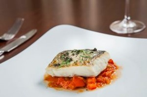 06. Bene Easter Family Set - Slow cooked sea bass, eggplant caponata, basil oil_low