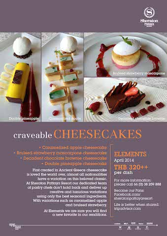 AW SHE craveable CHEESECAKES
