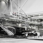 ANZ in paint Hangar before rollout