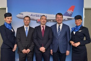 Air Serbia - Media conference