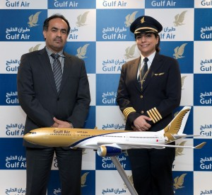 Gulf Air's First Female Bahraini Captain Takes to the Skies