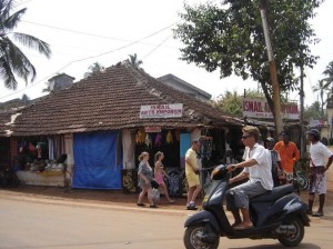 Hiring a two wheelers is a good way to move around Goa