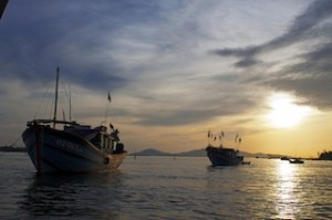 Hoi An Bay - Vietnam, Thailand and Laos on a shoestring is just one trip that has additional departures