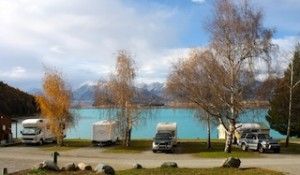 Lake Tekapo Holiday Park - Caravans