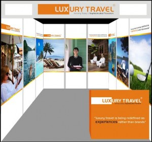 Luxury Travel Booth
