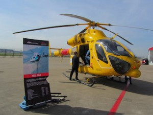 MD Helicopters debut at ABACE 2014