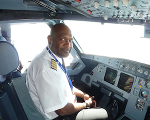 Solomon Airlines CEO, Captain Ron Sumsum.