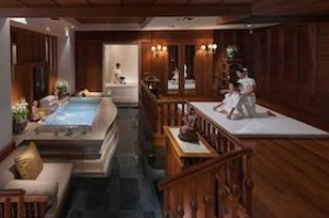 Spa-suite at Mandarin Oriental, Bangkok