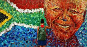 Madiba street art in Cape Town. Image credit: Cape Town Tourism