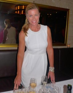 Avalon Waterways Ambassador for Australasia Deborah Hutton at the Champagne function in Sydney this week to launch the line's new French program.