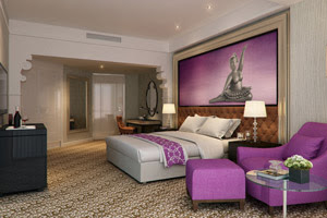 Elegance and luxury will be the hallmarks of the 212 rooms at the hotel.