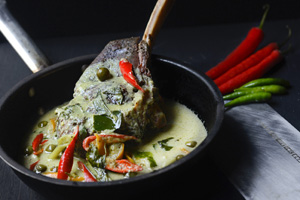 72-Hour Slow Cooked Beef Ribs in Aromatic Green Curry