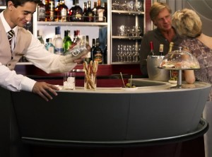 A380 Business Class lounge