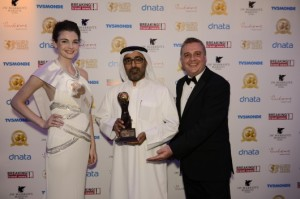 Ali Alzaabi receives World Travel Award