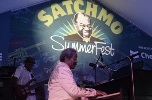 Allen Toussaint at the 2013 Satchmo SummerFest