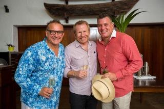 Todd Parker, Parker Travel Collection, Nick Baker, Executive General Manager Consumer Marketing Tourism Australia, Leah McCosh, Flight Centre Product Manager Australia and Graham Thornton, CEO Cairns Amateurs (hi Res avail)
