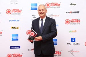 Thierry Antinori – Emirates' Executive Vice President and Chief Commercial Officer at the Business Traveller (ME) awards