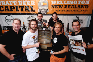Craft Beer Capital Stand at GABS