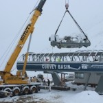 Early snow has not hampered work on the new Curvey Basin chairlift at The Remarkables ski area, Queenstown, New Zealand_media