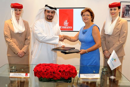 Emirates renews its commitment to Seychelles