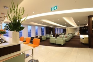 Etihad Airways' First and Business Class Lounge Sydney_