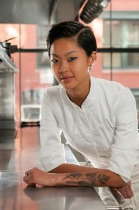 2013 Top Chef Kristen Kish of the Barbara Lynch Gruppo