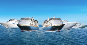 P&O Cruises five-ship fleet lines up to serve Australia