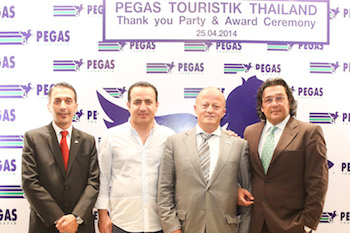 Pegas Thank you Party & Award Ceremony at Chatrium Hotel
