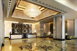 Rendering of redesigned Caravelle Lobby