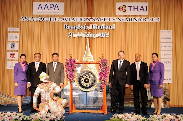 TG064-THAI Hosts AAPA Asia Pacific Aviation Safety Seminar 2014