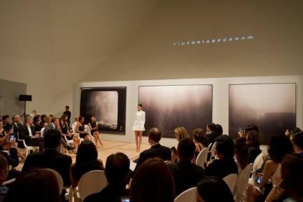 The exclusive evening with Victoria Beckham was held at ArtScience Museum at Marina Bay Sands
