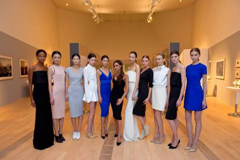 Victoria Beckham presented her limited edition ICON range