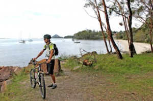 Cycling with Port Stephens Mountain Bike Adventures - Nelson Bay6