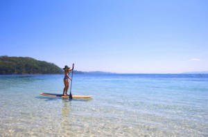 Stand up paddleboarder - Port Stephens