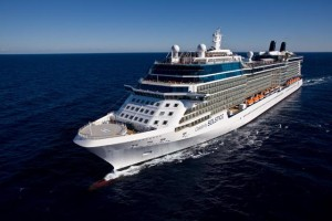 Celebrity Solstice - Aerial at Sea Miami ShorelineCelebrity Cruises