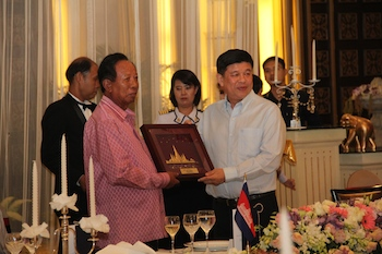 21 - Welcome Dinner for H.E. General Tea Banh