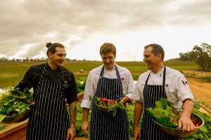 Aravina Chefs - Matt Black Andrew Foulsham Tony Howell - credit Tim Swallow