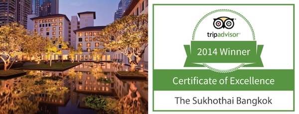 Certificate of Excellence_The Sukhothai Bangkok