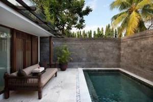 Each new villa at The Chedi Club Tanah Gajah Ubud features a pool ensconced in a private courtyard.