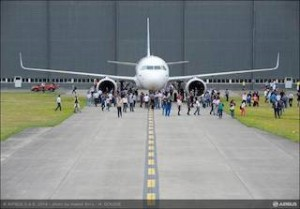 First A320neo is complete and gearing up for first flight in September 2014