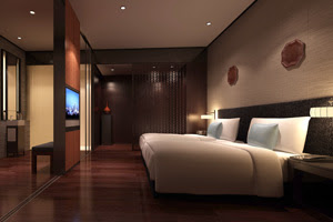 Guestroom of dusitD2 Tianjin, China