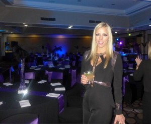 Louise Van Veenendaal from this season's reality show The Voice, at Novotel Sydney Central